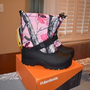 Northside Girl's Frosty Snow Boots